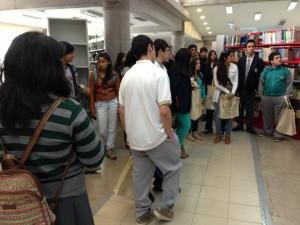 Alumnos del Colegio Don Bosco de Rancagua visitaron la universidad este miércoles