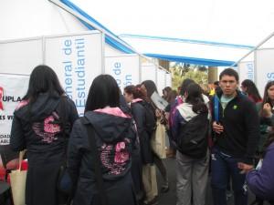 """Más de mil estudiantes participaron del """"Puertas Abiertas"""" de la UPLA en Valparaíso"""