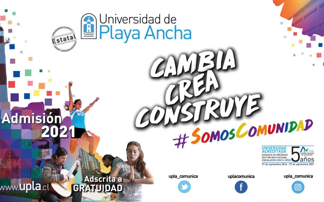 Universidad de Playa Ancha - Admisión 2021
