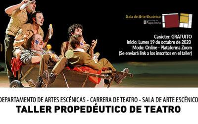 UPLA invita a estudiantes de enseñanza media a participar de propedéutico de la carrera de Teatro