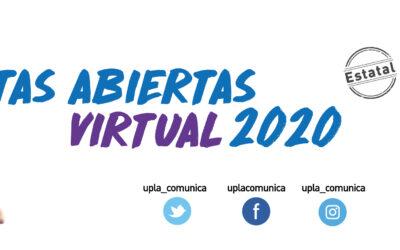 Puertas Abiertas Virtual: UPLA invita a conocer su oferta académica y vida universitaria