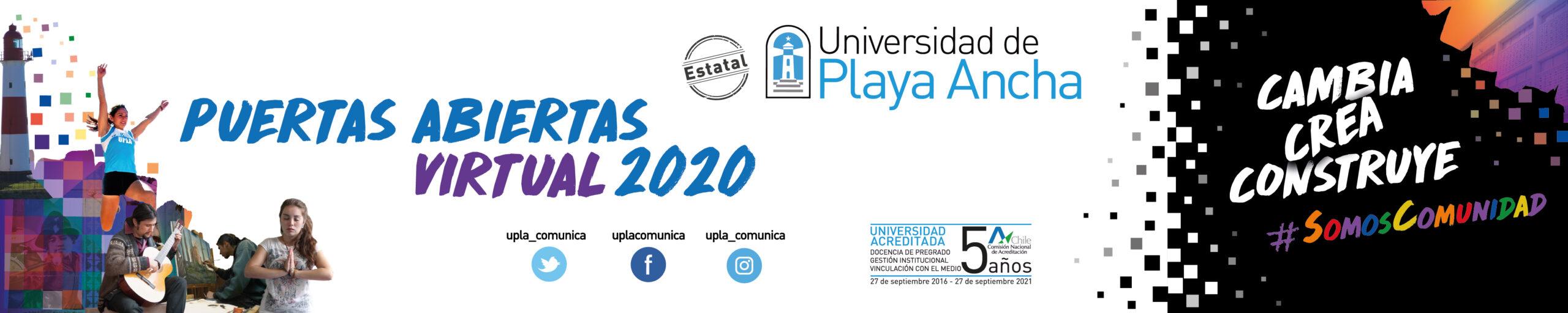 UPLA - Puertas Abiertas Virtual 2020