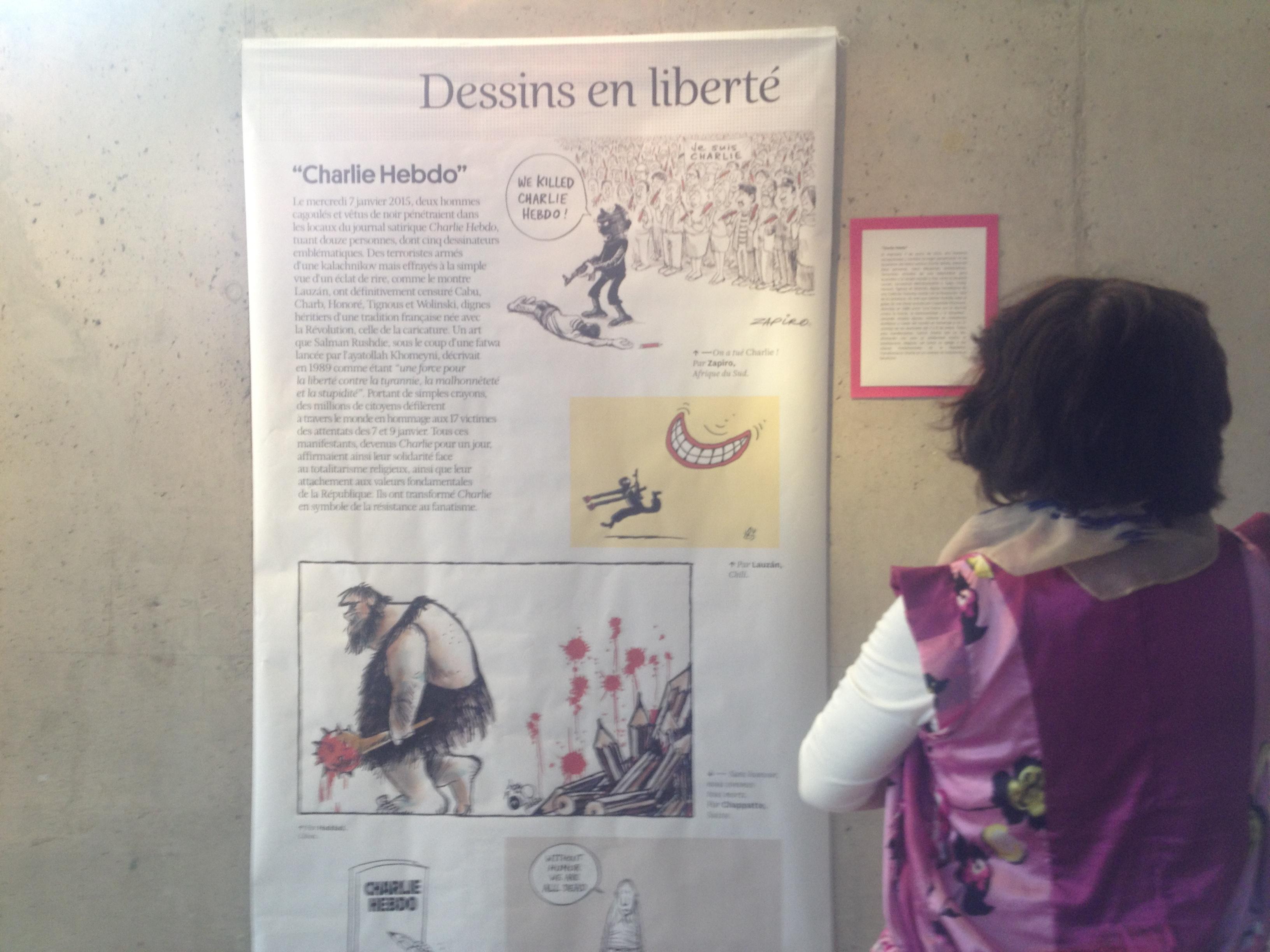 Exposición Francesa DESSINES EN LIBERTÉ