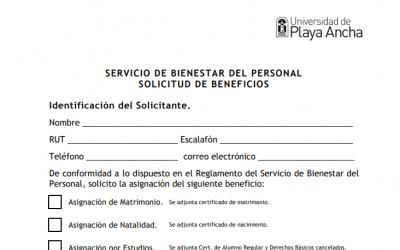 Informa procedimiento para Asignación Estudiantil 2020 (Informativo N°9/2020)