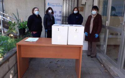 Bienestar del Personal apoya a funcionarios con cajas de mercadería