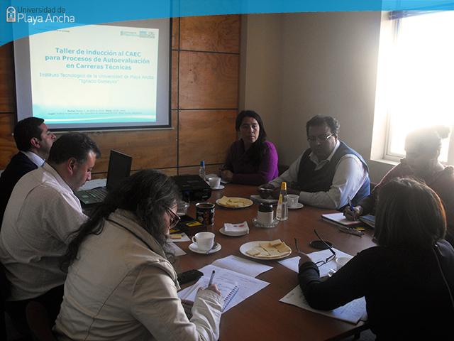 Inducción al Comité de Acreditación de Carreras (CAEC) Técnicas del Instituto Tecnológico UPLA Ignacio Domeyko