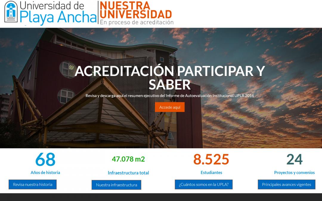 Nuestra Universidad en proceso de acreditación
