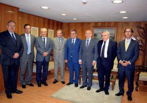 Rectores del CRUCH se reunieron con nuevas autoridades del Ministerio de Educación