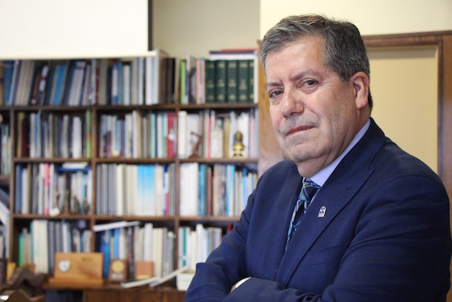 Rector Patricio Sanhueza aborda los desafíos de la universidad para el 2018