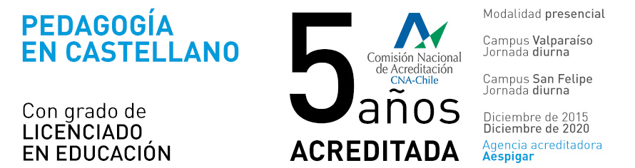Pedagogía en Castellano UPLA - Acreditada 5 años