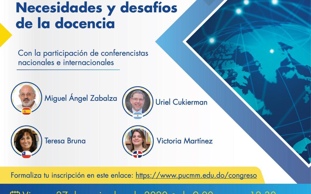 Directora General de Gestión de la Calidad UPLA expone en Congreso Virtual Universitario Internacional
