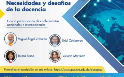 Directora General de Gestión de la Calidad UPLA expone en Congreso Virtual Universitario Internacional