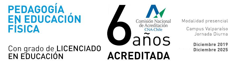 Pedagogía en Educación Física UPLA - Carrera acreditada