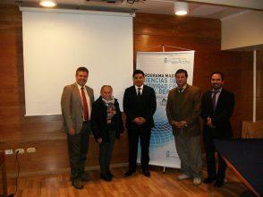 Dr. Nelson Castillo H., Dra. Ph-D. Nelly Orellana A., Mg. César Salgado A., Dr. César Oliva A., Dr. Hernaldo Carrasco B