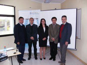Dr. César Oliva A., Dr. Pablo de la Cerda S., Mg. Gabriela Velásquez A., Dr. Felipe Vallejo R., Dr. Nelson Castillo H.