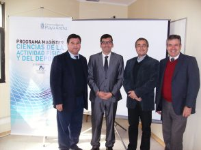 Dr. César Oliva A., Mg. Diego Peña S., Dr. Pablo de la Cerda S., Dr. Nelson Castillo H.
