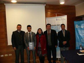 Dr. Nelson Castillo H., Mg. Fabián Moya V., Dra. Johana Soto S., Dr. César Oliva A., Dr. Enrique Arriaza A.