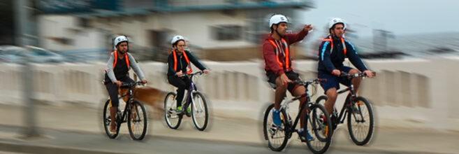Ciclistas UPLA