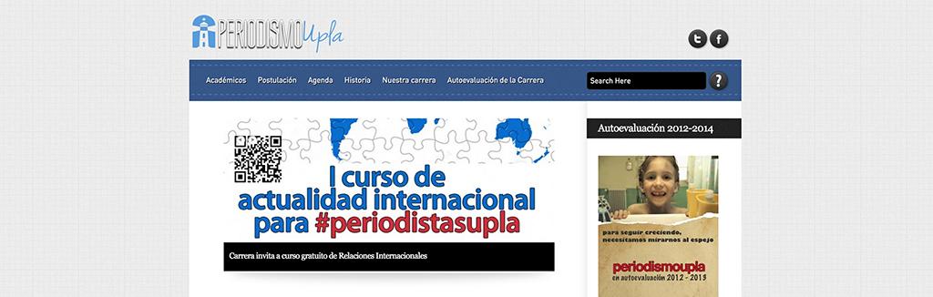 Universidad de Playa Ancha - Facultad de Ciencias Sociales - PeriodismoUpla.cl