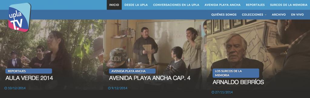 Universidad de Playa Ancha - Facultad de Ciencias Sociales - Uplatv