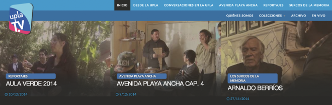 Universidad de Playa Ancha - Facultad de Ciencias Sociales - Uplatv