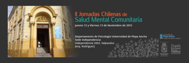 II Jornadas Chilenas de Salud Mental Comunitaria