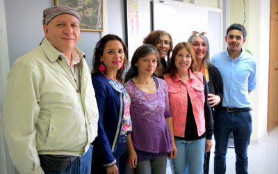 """DGDE y Asociación """"Únete"""" evaluaron voluntariado de terapeutas alternativos en Centro de Atención Holística UPLA"""