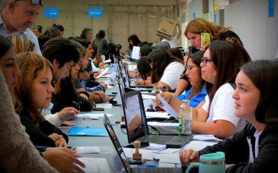 Dirección General de Desarrollo Estudiantil presente en Proceso de Matrícula #UPLA2019