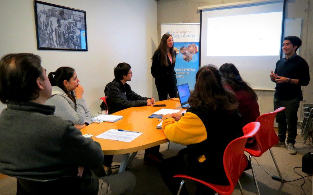 """Proyecto FDI estudiantil """"Learning Hublab"""" inició programa de incubación de propuestas pedagógicas TIC en la UPLA"""