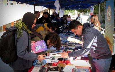 Alto interés y participación generó I Feria del Fomento Lector de la UPLA