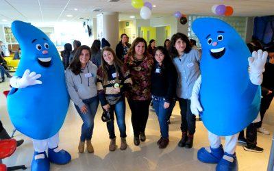 """Programa Consciente UPLA participó en """"Día Preventivo del Adolescente"""" del Cesfam Miraflores"""