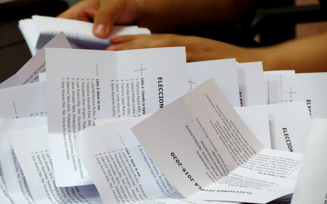 """Lista """"Tómate la UPLA"""" resultó electa como la nueva Federación de Estudiantes por el período 2019-2020"""