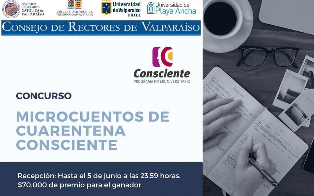 """Participa en el concurso """"Microcuentos de Cuarentena Consciente"""""""