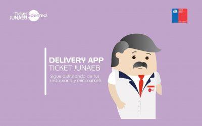 Comercios que hacen delivery y permiten pagar con la App Ticket JUNAEB