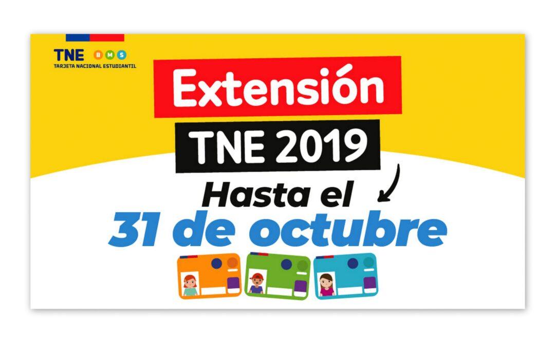 Inscríbete para pegar el Sello 2020 a tu TNE 2019