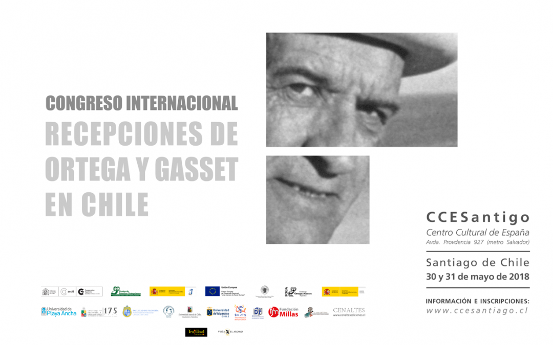 """Académicos UPLA participarán en Congreso Internacional """"Recepciones de Ortega y Gasset en Chile"""""""