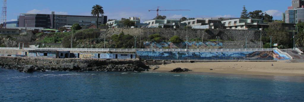 UPLA ejecuta innovador proyecto con agua de mar en sector de Playa Ancha