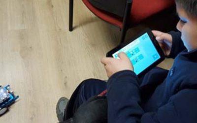 Escolares de sexto año aprendieron sobre robótica y nuevas tecnologías