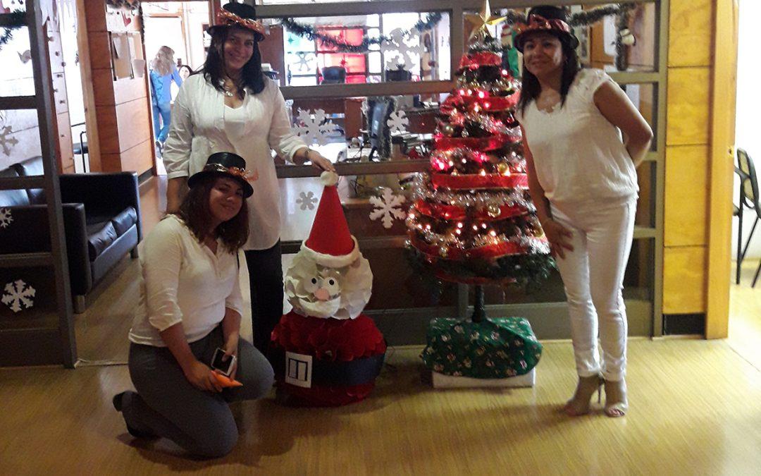 Facultad de Ingeniería celebró Navidad en conjunto