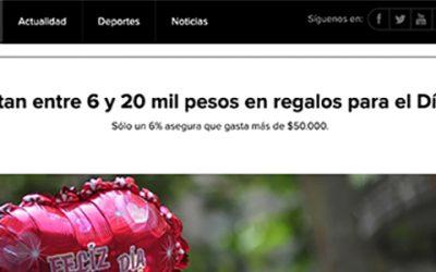 Chilenos gastan entre 6 y 20 mil pesos en regalos para el Día de la Madre