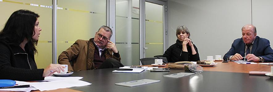 Facultad de Ingeniería UPLA y CORE de Valparaíso afinan detalles para trabajar juntos en temas medioambientales