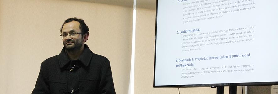 UPLA se prepara para una Política de Propiedad Intelectual