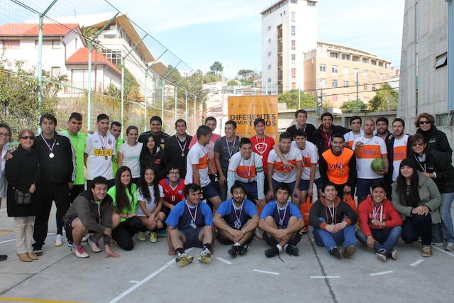 Universidad de Playa Ancha - Inclusión Universitaria - Futbolito