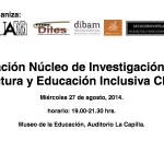 Universidad de Playa Ancha - Inclusión - Núcleo de Investigación en Fácil Lectura y Educación Inclusiva en Chile