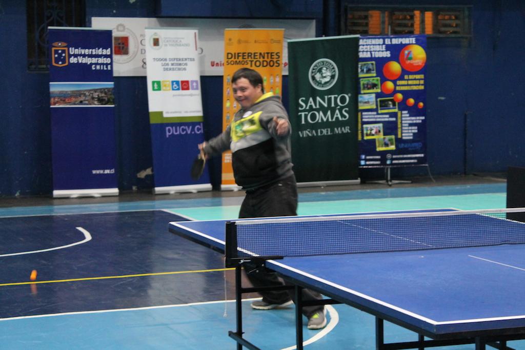 Universidad de Playa Ancha - Inclusión - Tenis de mesa