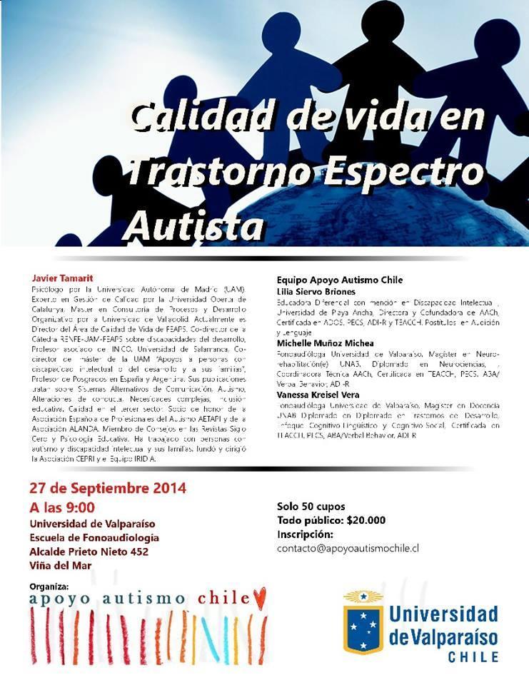 Universidad de Playa Ancha - Inclusión - Jornada Autismo
