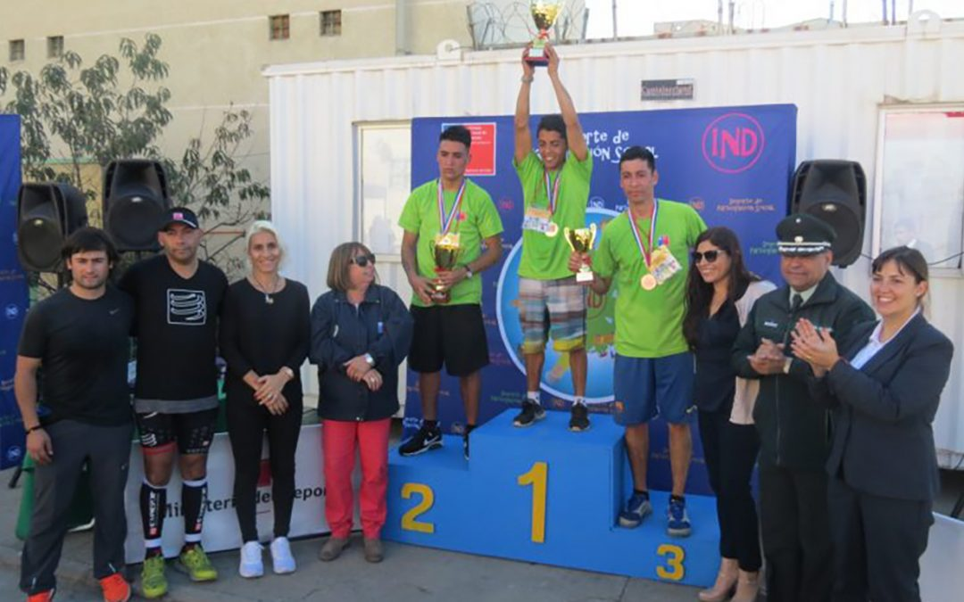 Estudiante del Instituto Tecnológico ganó duatlón del Complejo Penitenciario de Valparaíso