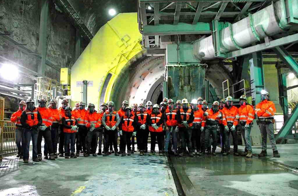 Estudiantes de Minería del Instituto Tecnológico de la UPLA realizaron pasantías en Codelco Andina