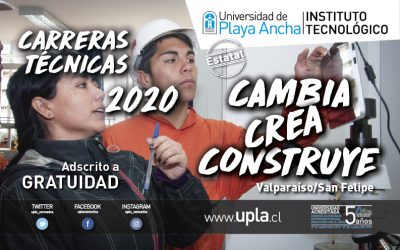 Universidad de Playa Ancha dicta carreras técnicas con gratuidad y sin PSU
