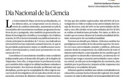 Día Nacional de la Ciencia